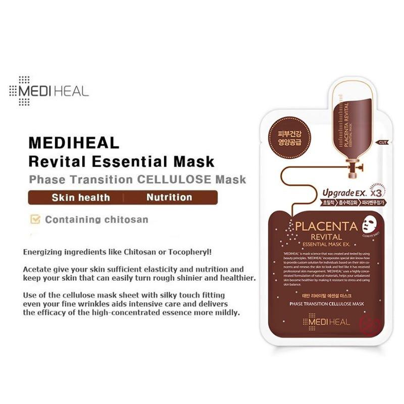 Placenta Revital Essential Mask EX.-3