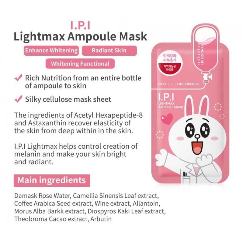 I.P.I Lightmax Ampoule Mask (Line Friends Edition)-3