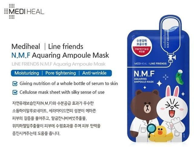 Ampoule Mask Mix Set (Line Friends Edition)-3