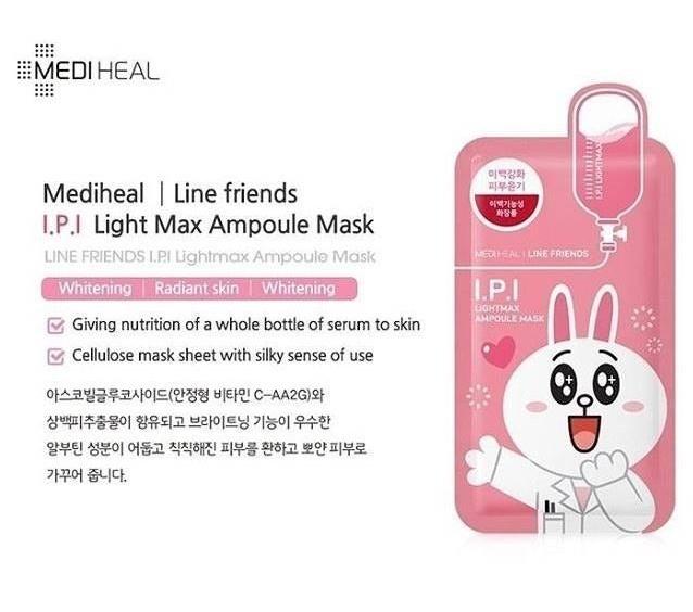Ampoule Mask Mix Set (Line Friends Edition)-4