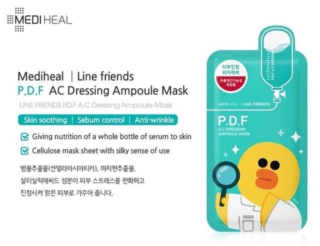 Ampoule Mask Mix Set (Line Friends Edition)-6