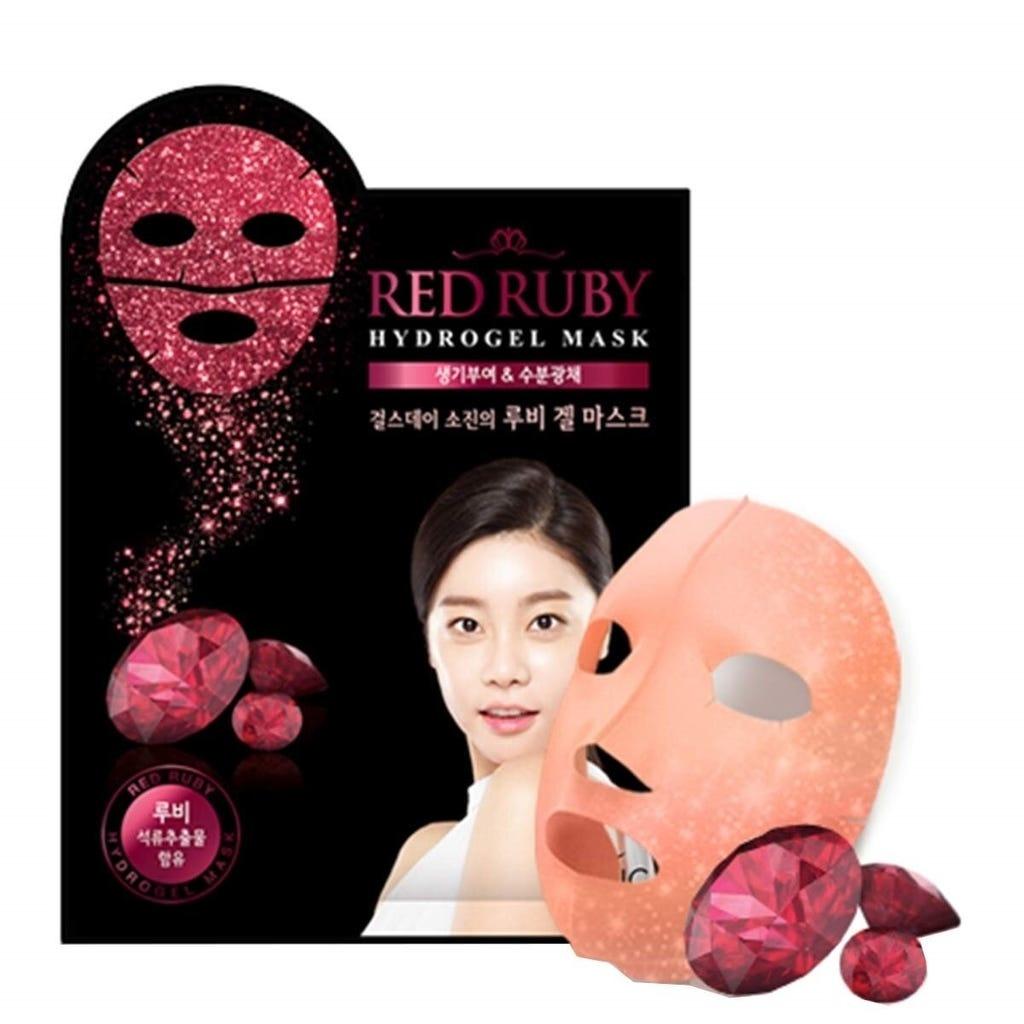 Red Ruby Hydrogel Maske-1