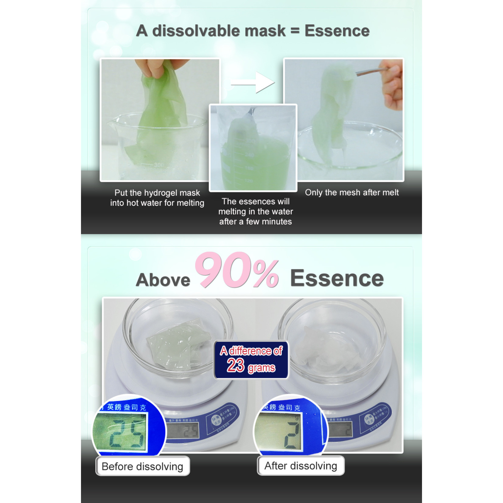 My Scheming Aloe Soothing Hydrogel mask