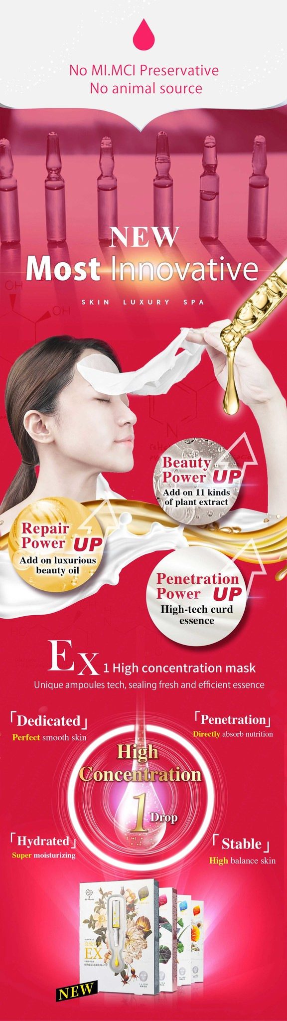 Extra Brightening Ampoule Mask-3