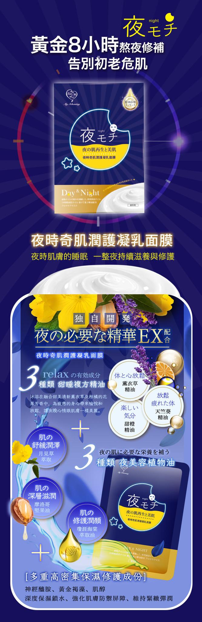 Midnight Miracle Moist Emulsion Mask(4 Stk)-2