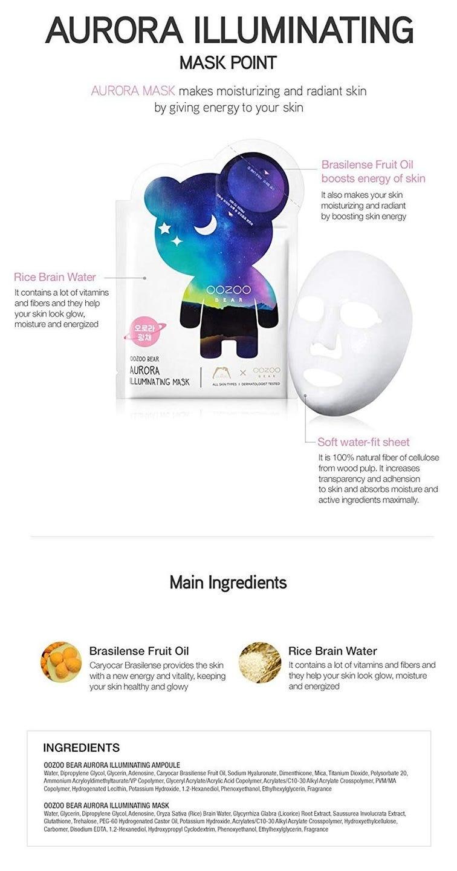 Oozoo Bear Mask (Illuminating)-4
