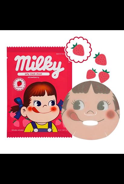 Jelly Mask Sheet Strawberry (Sweet Peko Limited Edition)