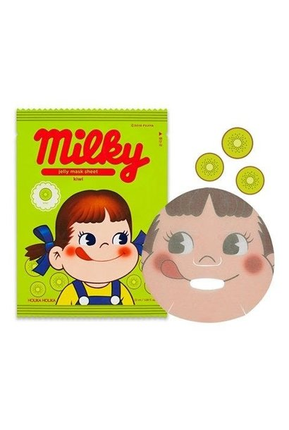 Jelly Mask Sheet Kiwi (Sweet Peko Limited Edition)