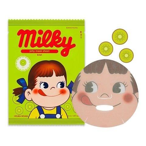 Jelly Mask Sheet Kiwi (Sweet Peko Limited Edition)-1
