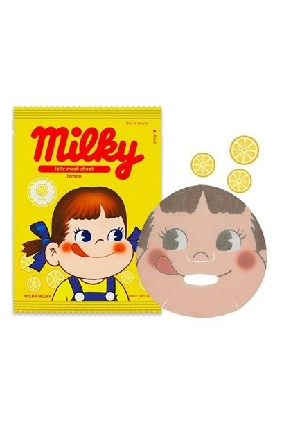 Jelly Mask Sheet Lemon (Sweet Peko Limited Edition)