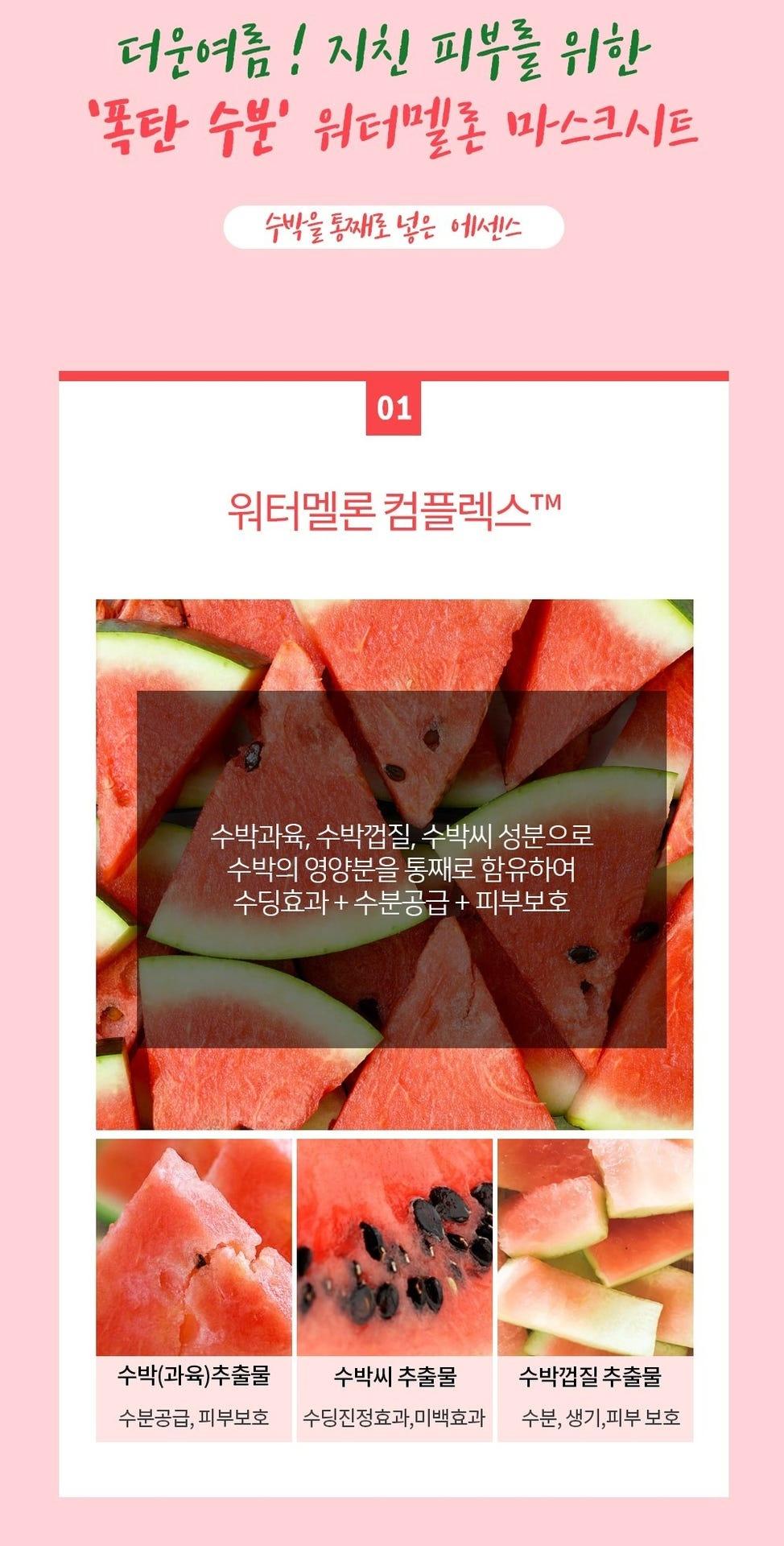 Watermelon Mask Sheet-2
