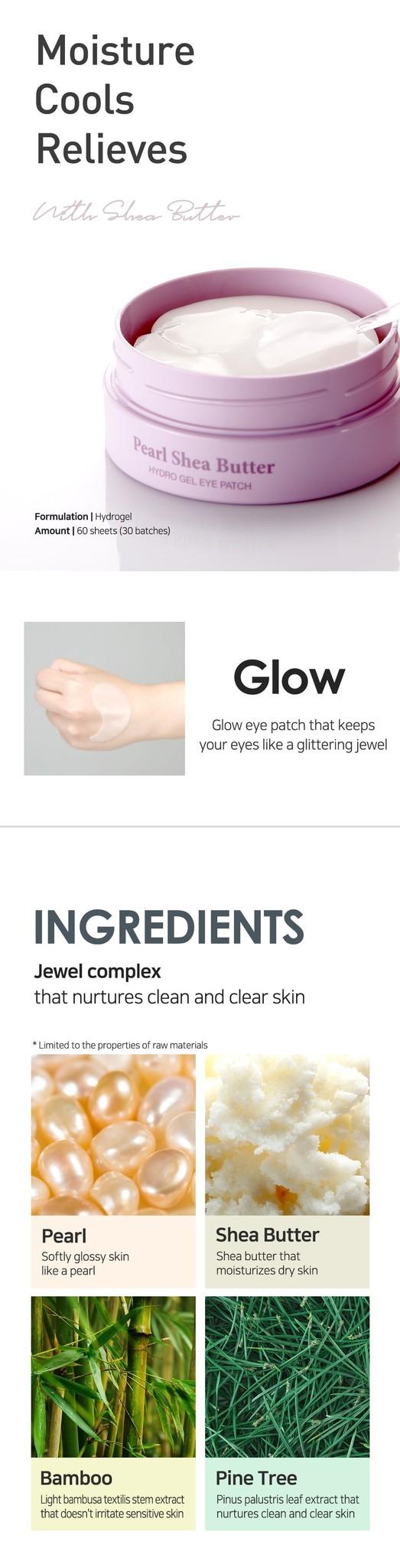 Pearl & Shea Butter Eye Patch-3