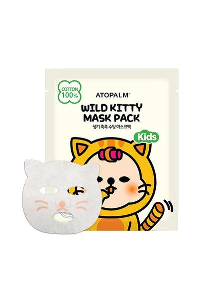 Wild Kitty Mask Pack Kids