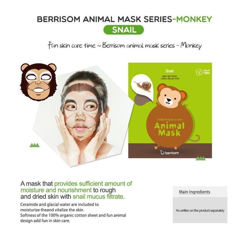 Animal Mask Series - Monkey-5