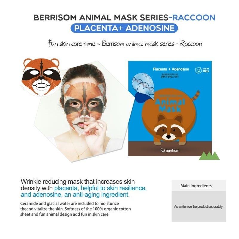 Animal Mask Series - Racoon-5