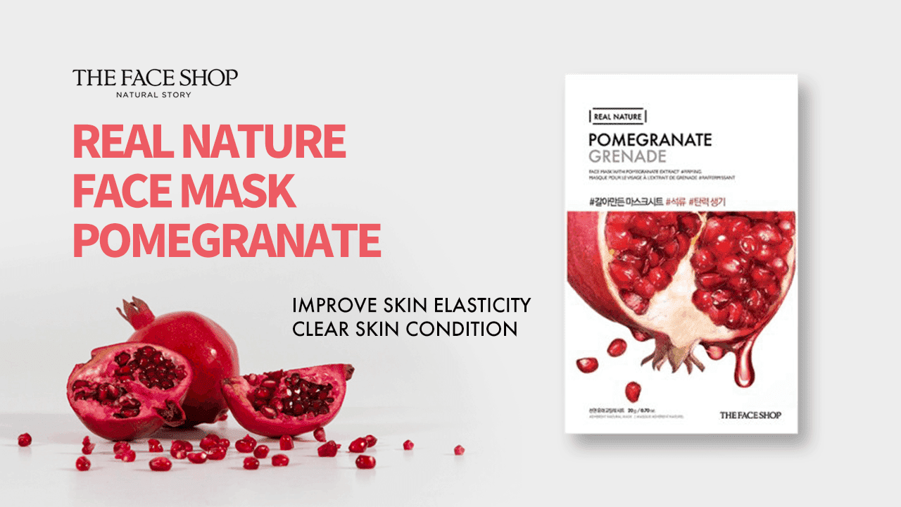 Real Nature Pomegranate Sheet Mask-2