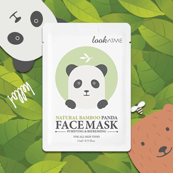 Natural Bamboo Panda Face Mask-2