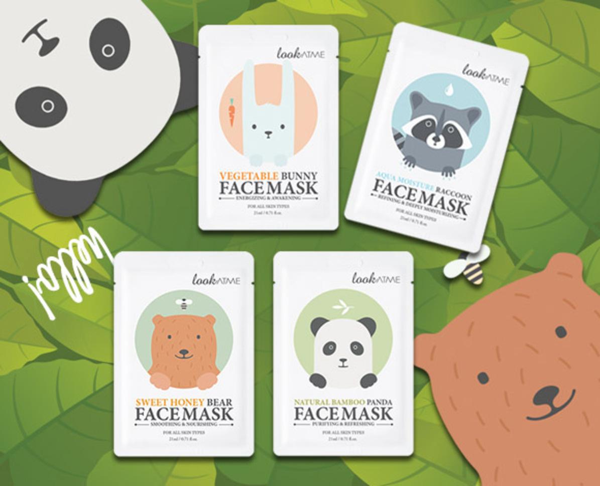 Natural Bamboo Panda Face Mask-3