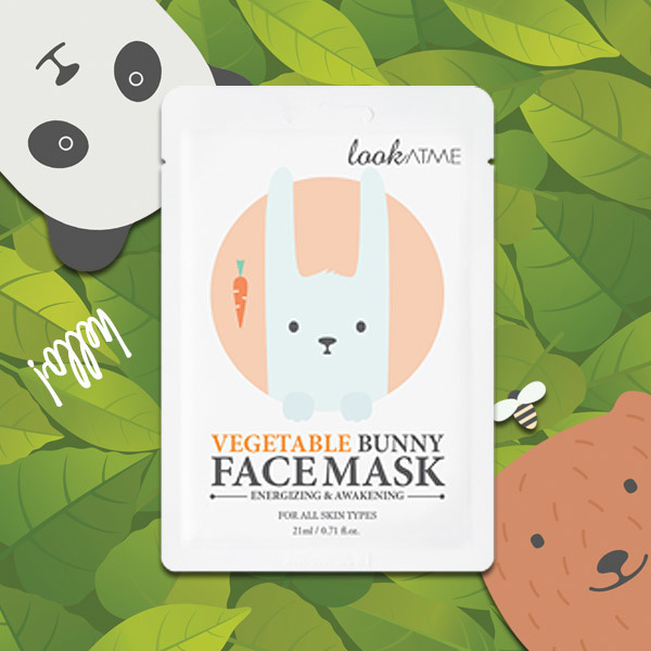 Vegetable Bunny Face Mask-2