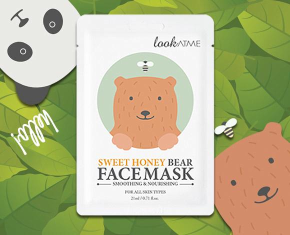 Sweet Honey Bear Face Mask-2