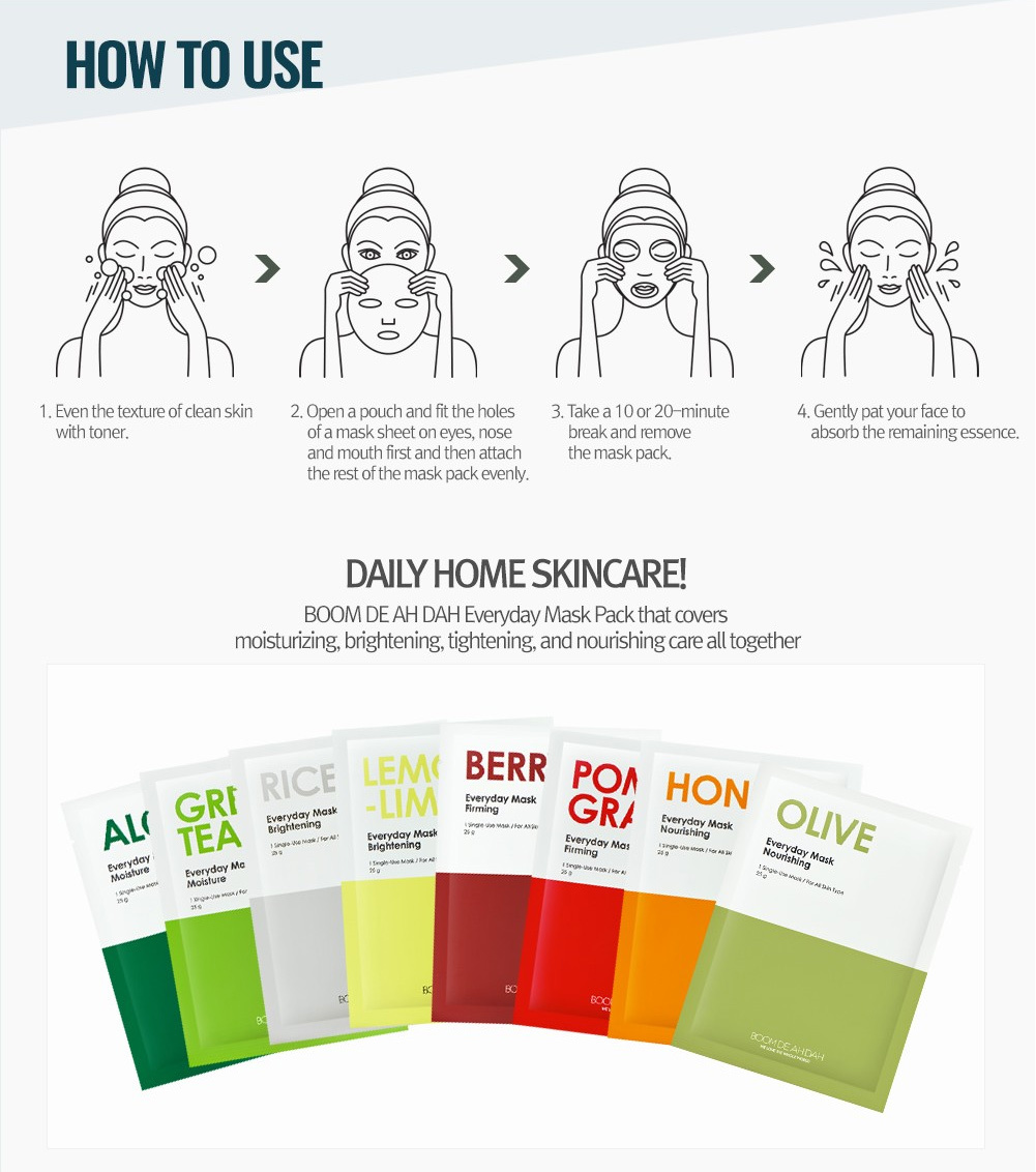 Green Tea Everyday Mask Moisture-5