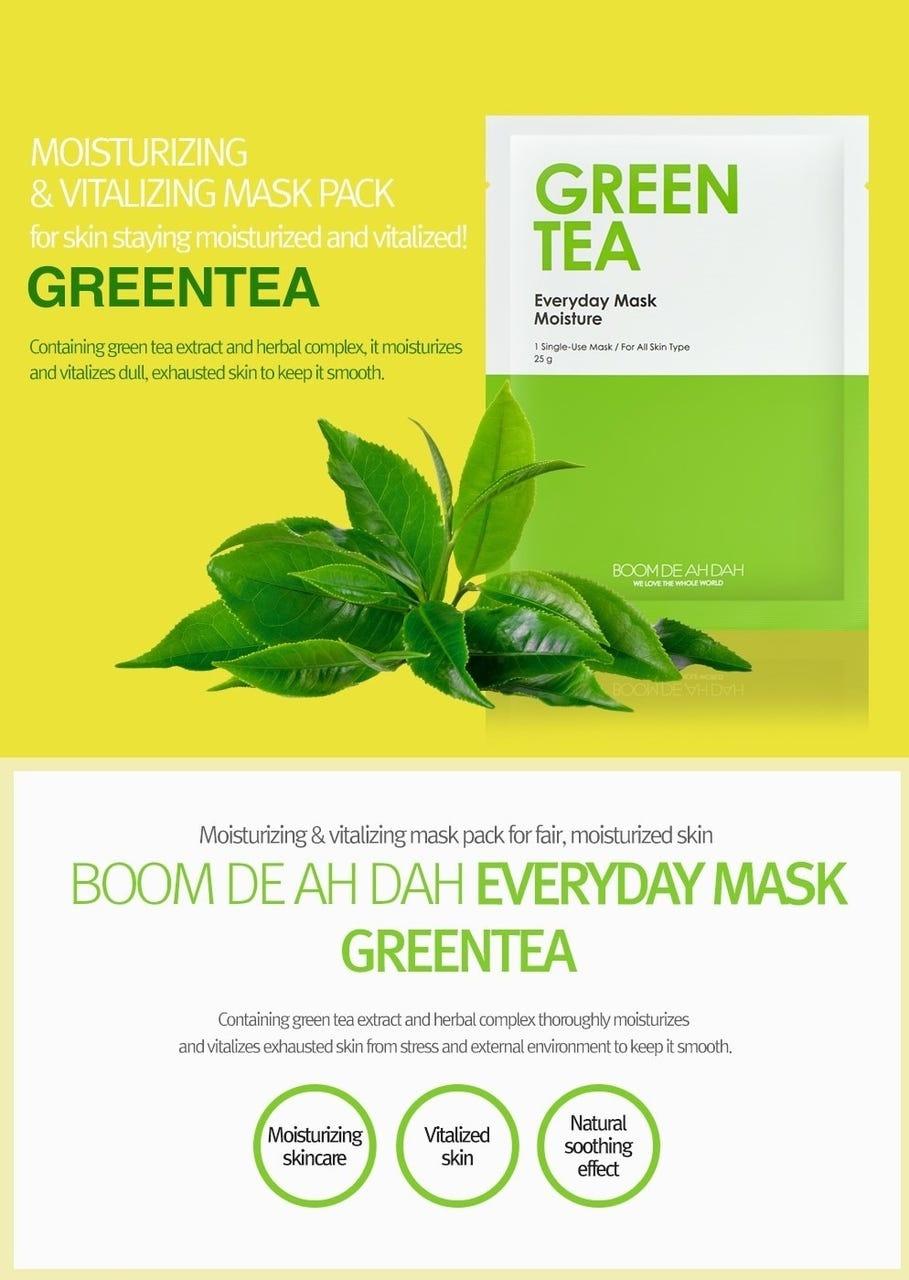 Green Tea Everyday Mask Moisture-2