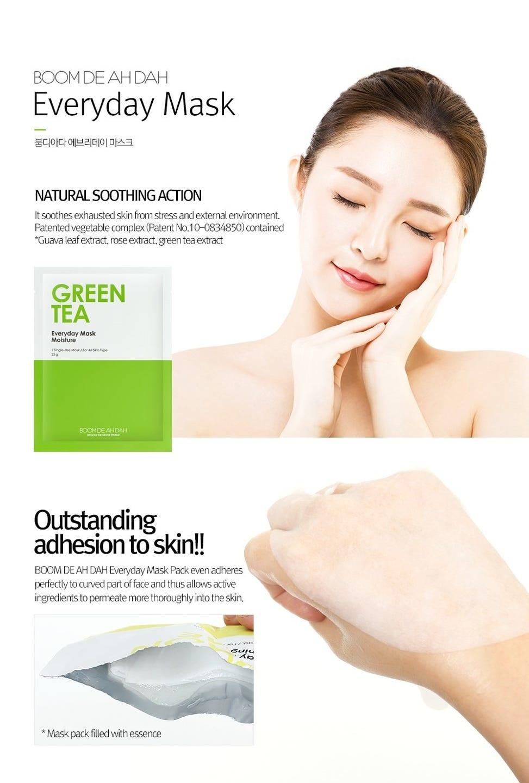 Green Tea Everyday Mask Moisture-3