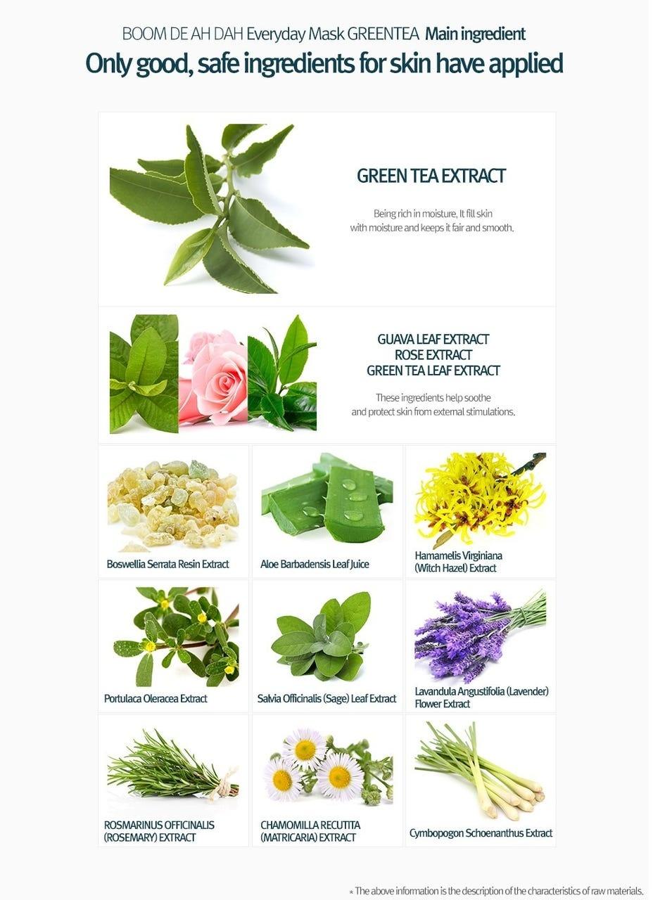 Green Tea Everyday Mask Moisture-4