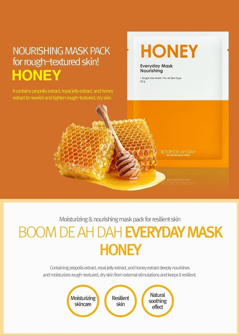 Honey Everyday Mask Nourishing-3