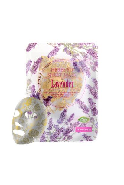 Skinmaman Herbs Fit Gold Rose Sheet Mask [Lavender]