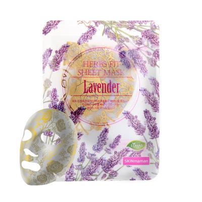 Skinmaman Herbs Fit Gold Rose Sheet Mask [Lavender]-1