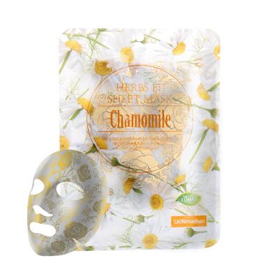 Skinmaman Herbs Fit Gold Rose Sheet Mask [Chamomile]-1