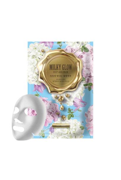 Milky Glow Mask Pack Deep Aqua
