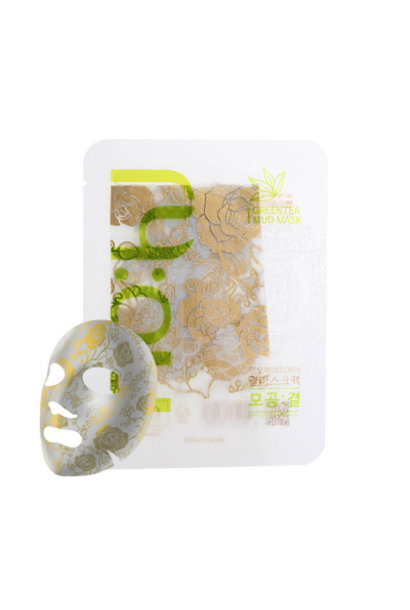 Anti-Pore Texture Mask pack [Green Tea]