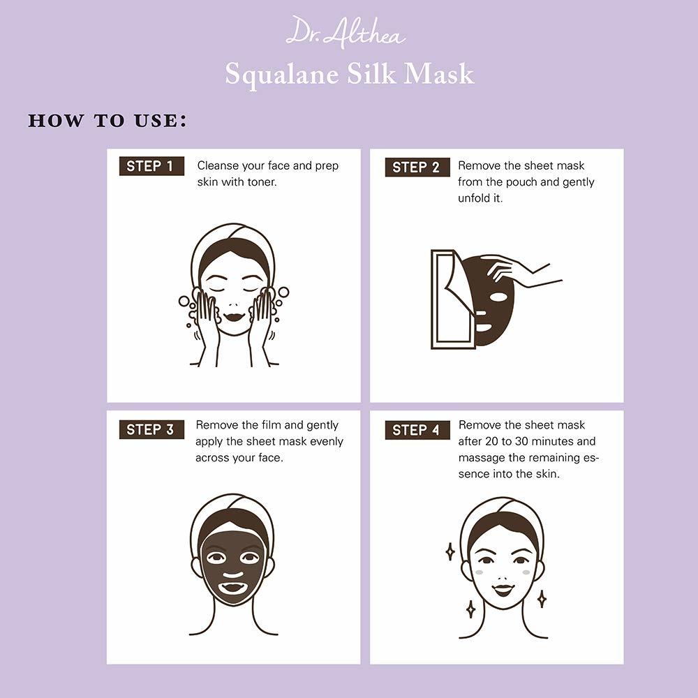 Premium Squalane Silk Mask-5