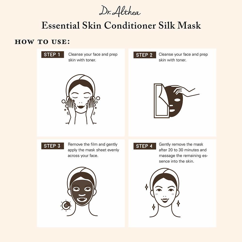 Premium Essential Skin Conditioner Silk Mask-5