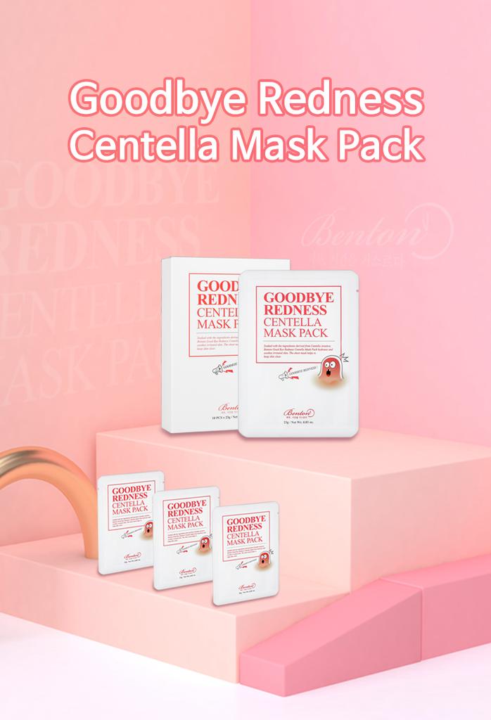Goodbye Redness Centella Mask Pack-2