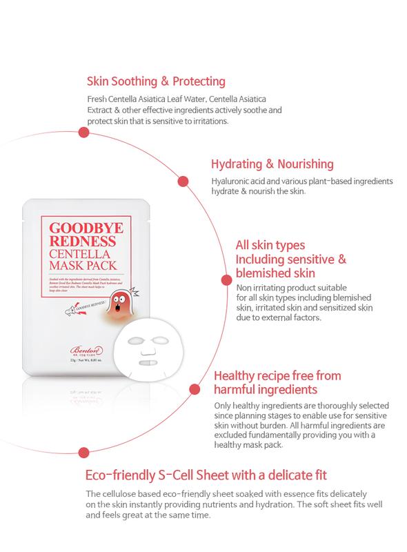 Goodbye Redness Centella Mask Pack-4
