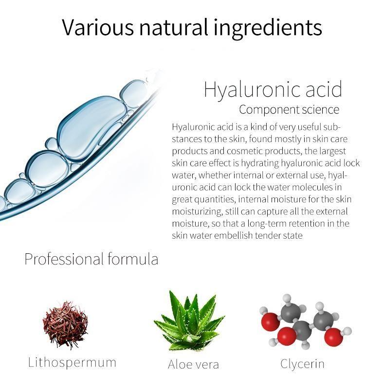 Hyaluronic Acid + Lithospermum Facial Essence Mask-3