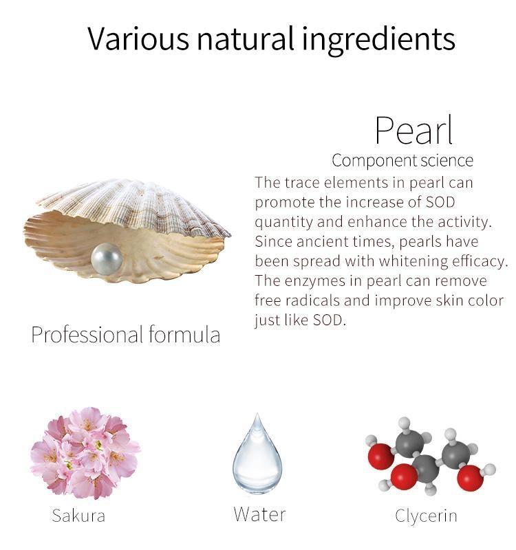 Pearl + Cherry Blossom Facial Essence Mask-3