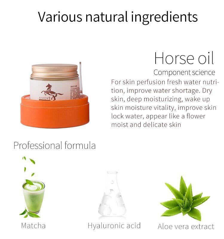 Horse Oil + Matcha Facial Essence Mask-3