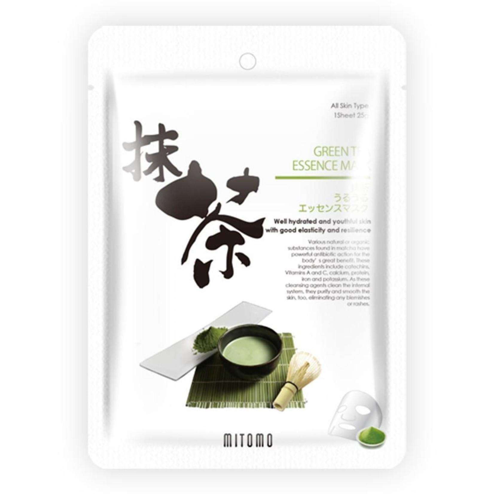 MITOMO Green Tea Matcha Facial Essence Mask