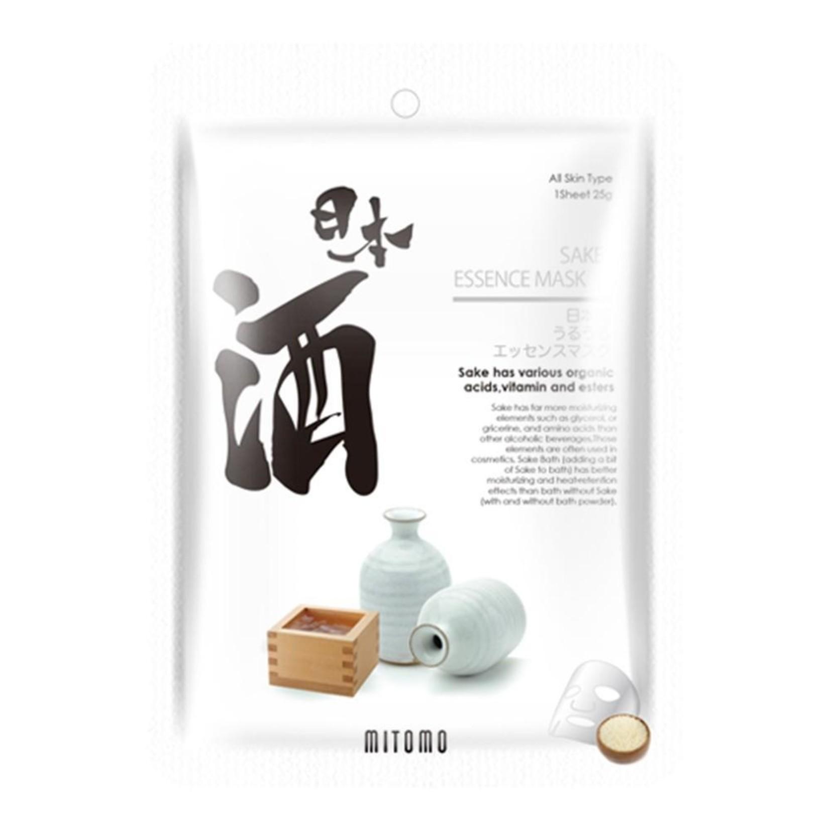 MITOMO Sake Facial Essence Mask