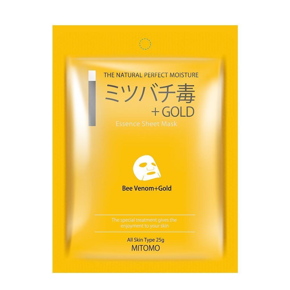 Bee Venom + Gold  Sensitive Skin Essence Mask-1