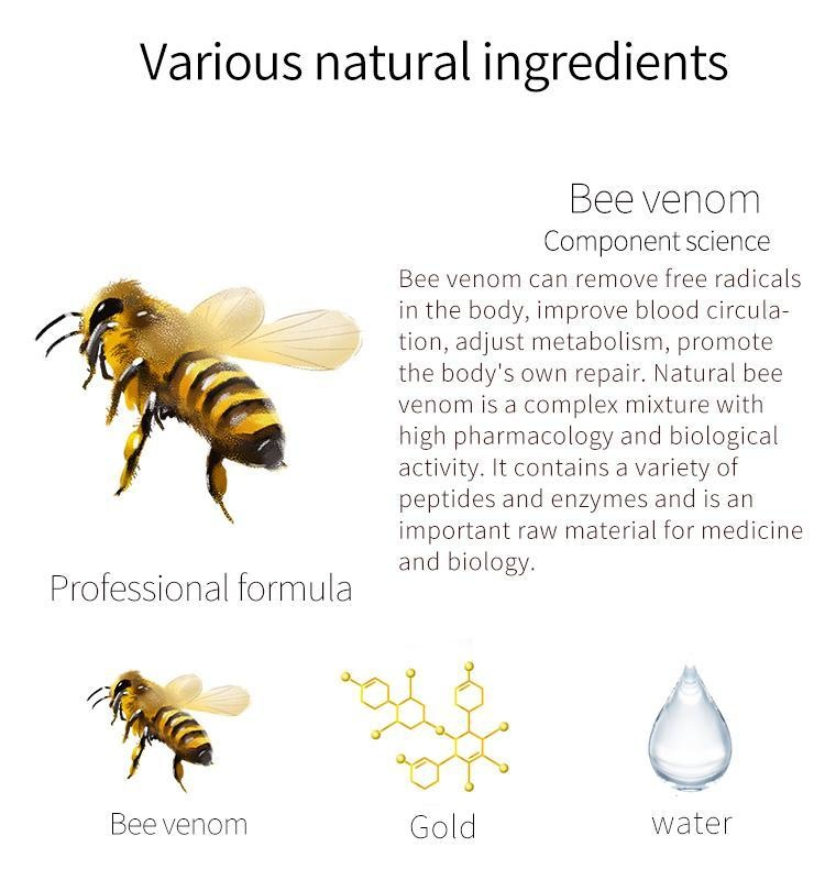 Bee Venom + Gold  Sensitive Skin Essence Mask-3