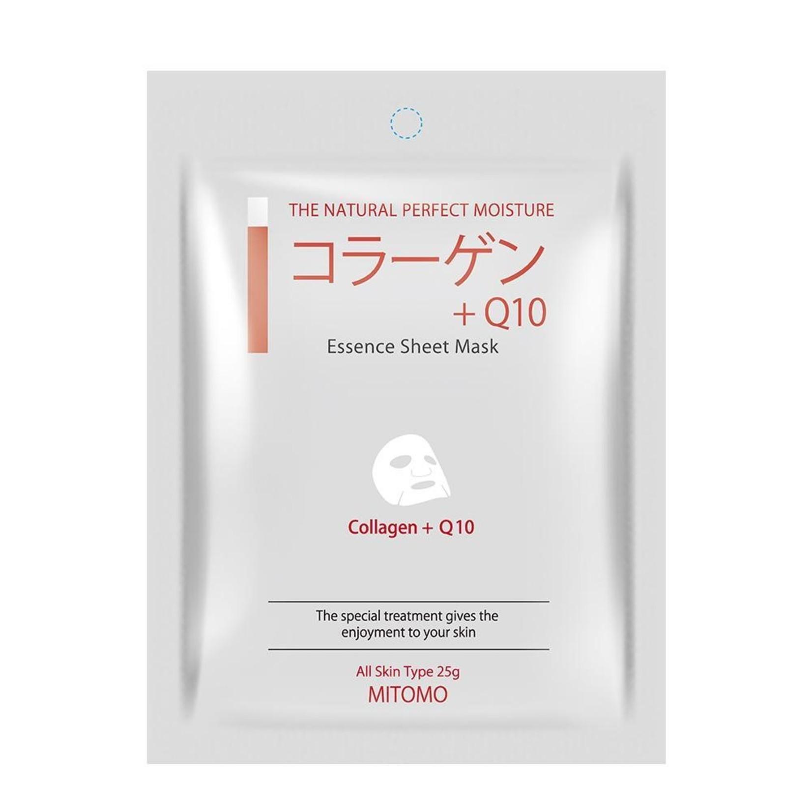 MITOMO Collagen + Q10 Elasticity Essence Mask