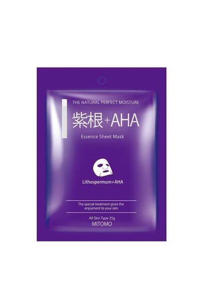 Lithospermum + AHA Pore Control Essence Mask