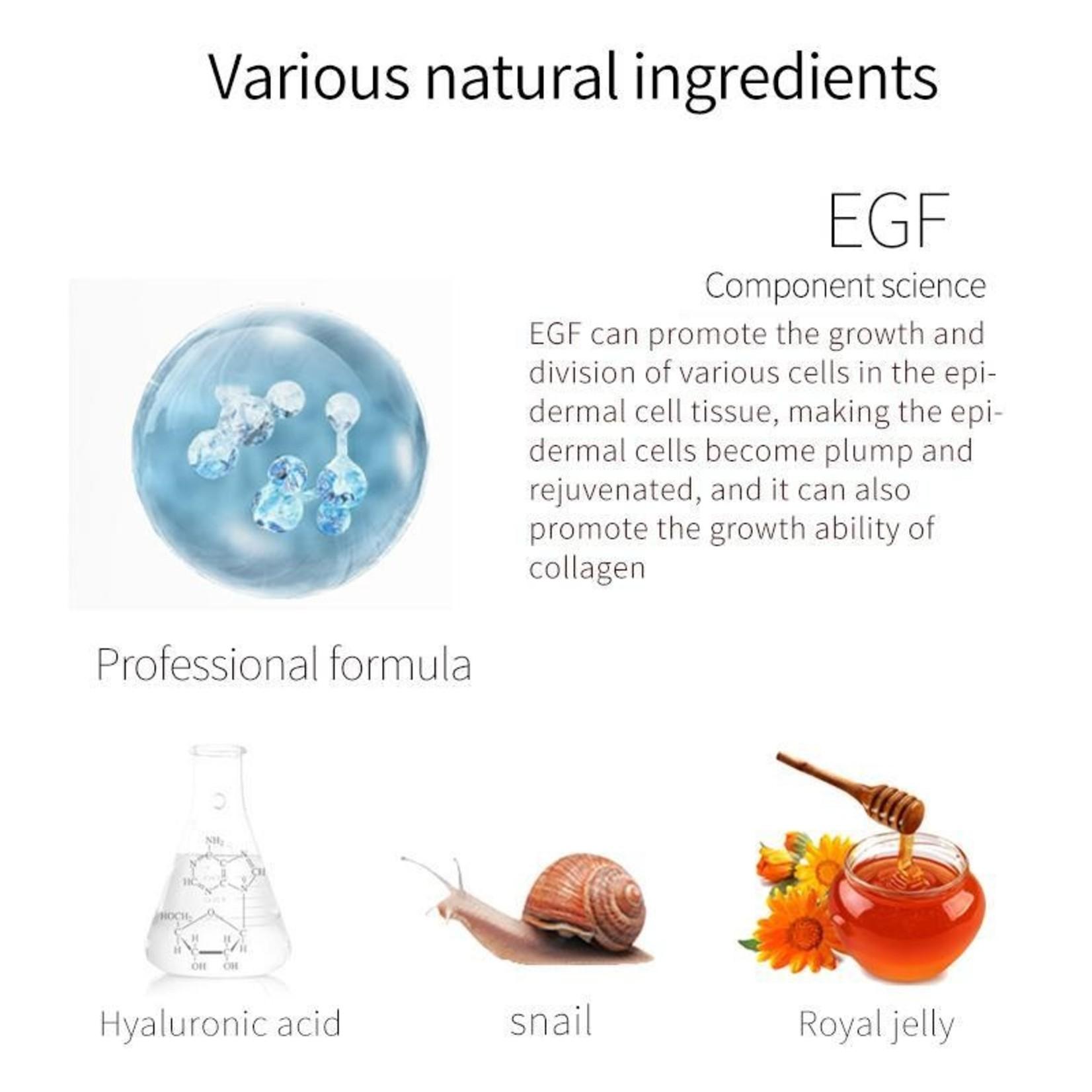 MITOMO Snail + EGF Regeneration Essence Mask
