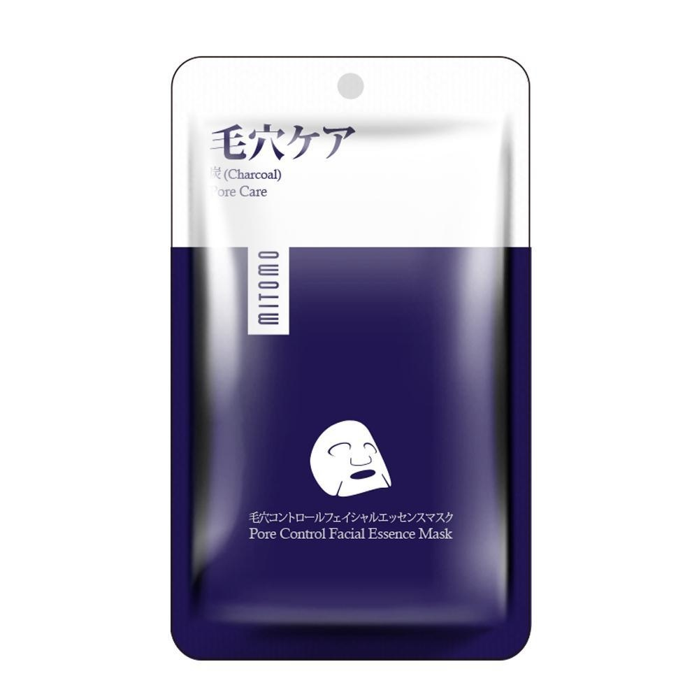 Charcoal Pore Care Essence Mask-1