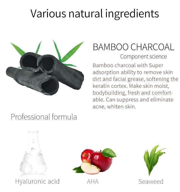 Charcoal Pore Care Essence Mask-3